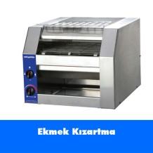 Konveyörlü Ekmek Kızartma Makinesi
